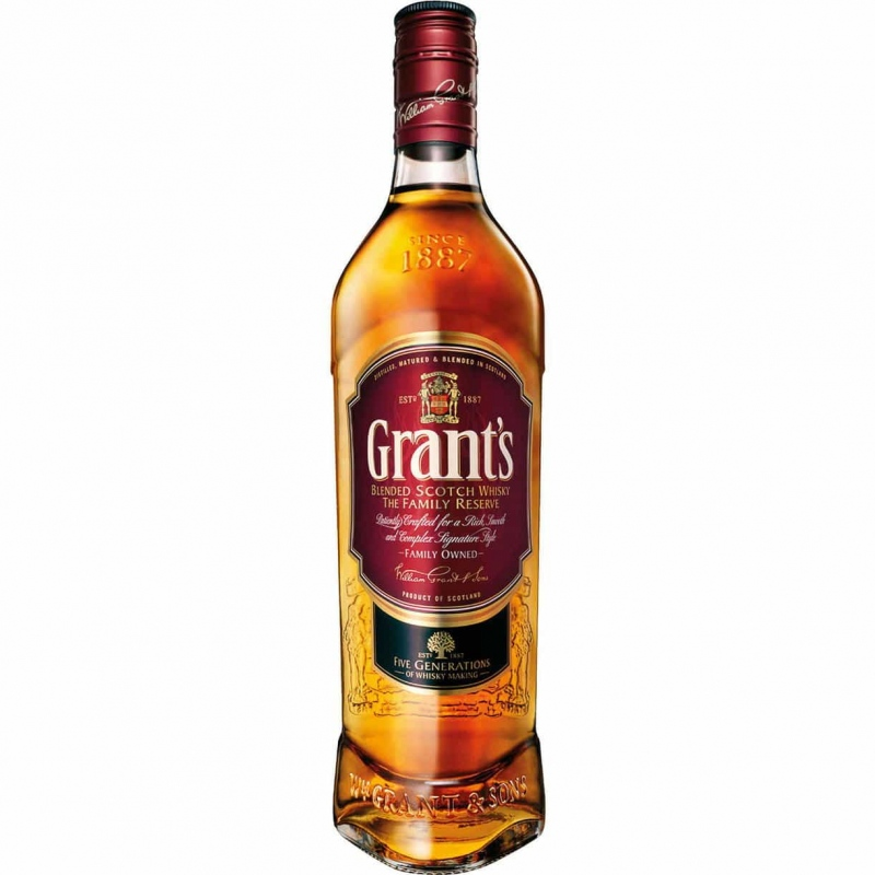 Dodaj Whisky Grants do bukietu kwiatów - Whisky Grants
