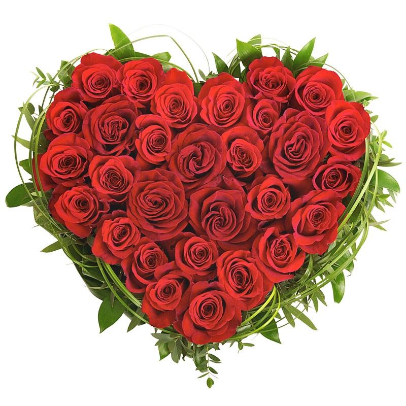Bukiet Serce dla Ciebie - przesyłka kwiatowa - E-kwiaty