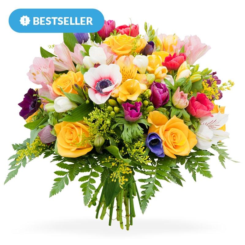 Bukiet Kwiatow Na Urodziny Kwiaty Urodzinowe E Kwiaty
